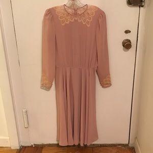 Dresses & Skirts - Exquisite Vintage Dress & Slip! EUC!
